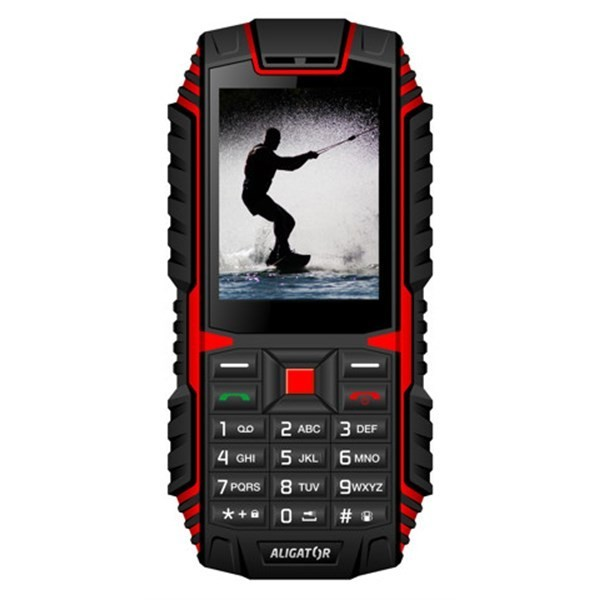 Mobilní telefon Aligator R12 eXtremo černý/červený