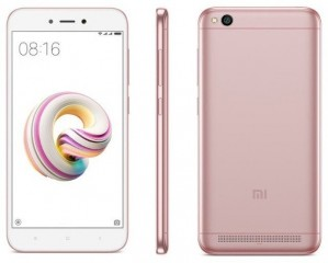 Xiaomi Redmi 5A 16GB Rose gold č.1