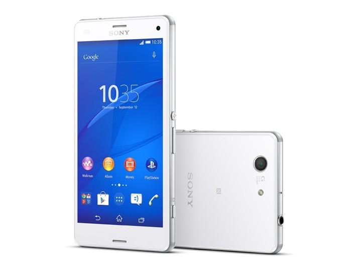 Sony Xperia Z3 Compact Bílá - Kategorie A