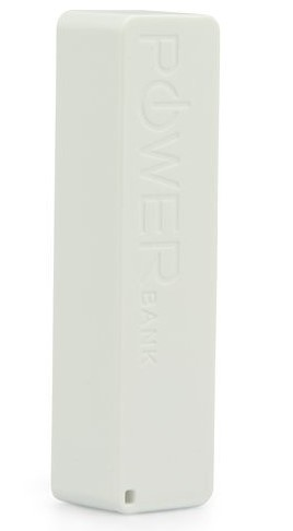 Mobile Power Bank 2600 mAh - A5 White