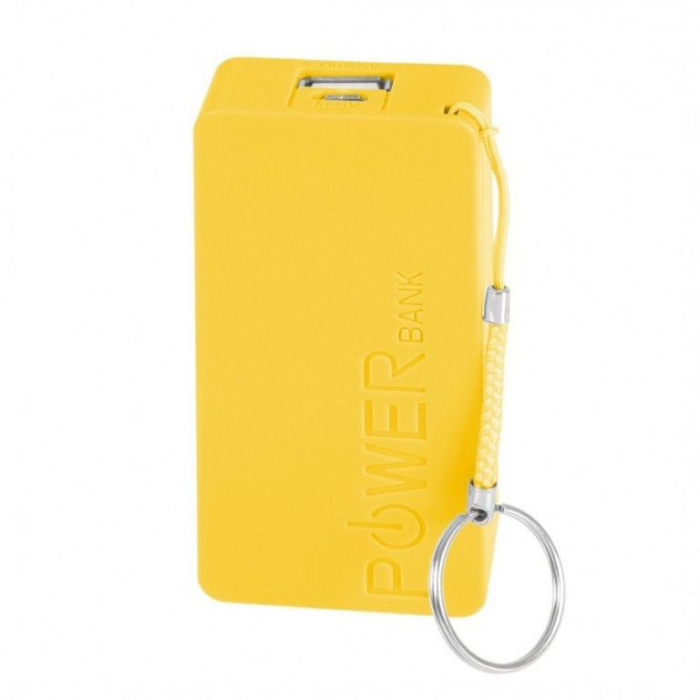 Mobile Power Bank 5600 mAh - Yellow