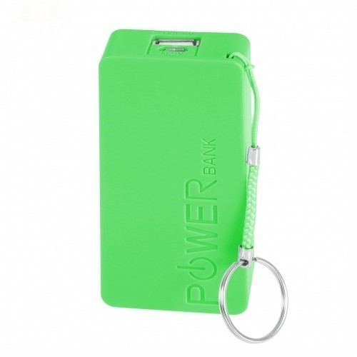 Mobile Power Bank 5600 mAh - Green