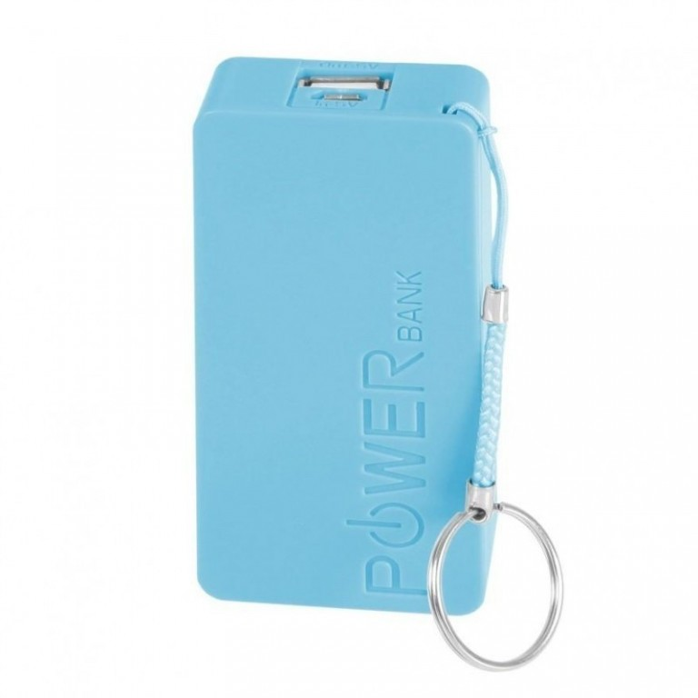 Mobile Power Bank 5600 mAh - Blue