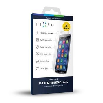 2 ks - Ochranné tvrzené sklo FIXED pro Samsung Galaxy J3 (2016), 0.33 mm