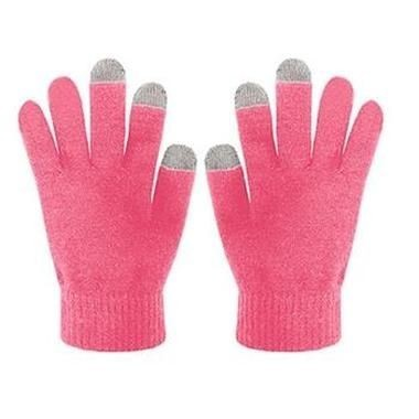 Zimní rukavice CELLY Touch Gloves - Růžové - velikost S/M