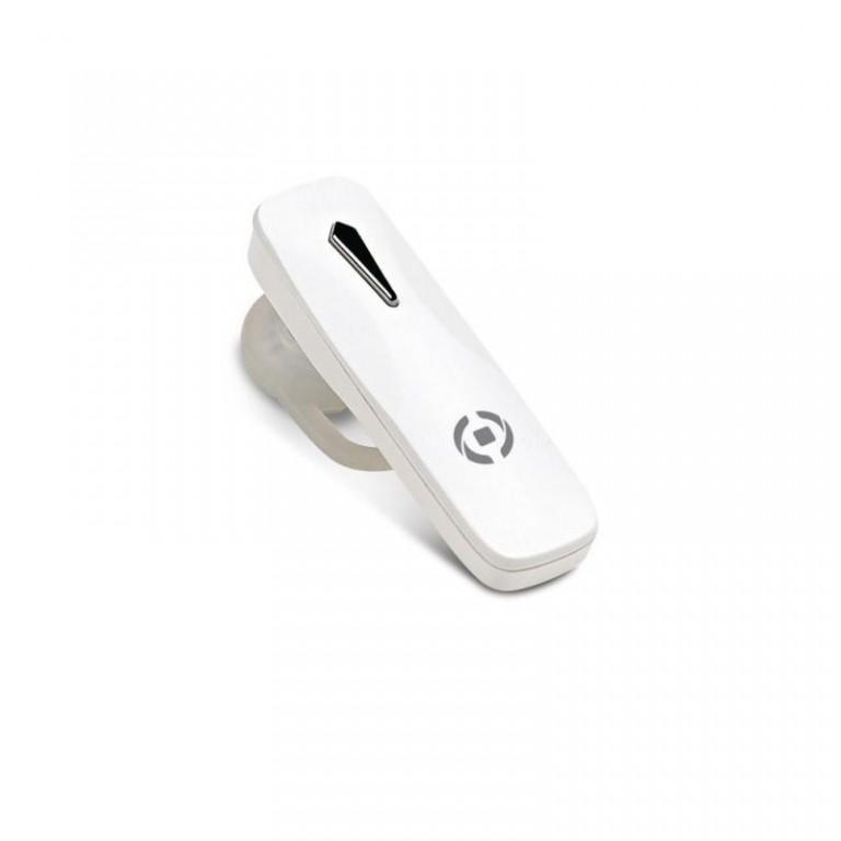 Bluetooth headset CELLY BH10, multipoint, bílý