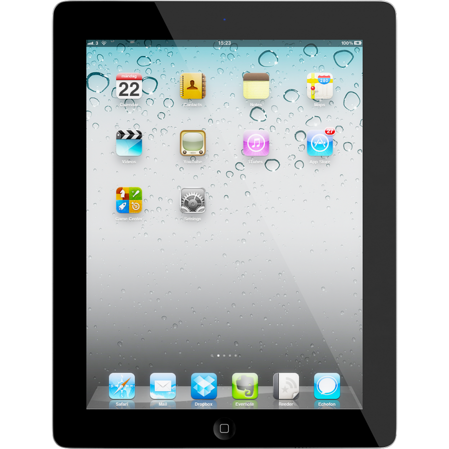 apple ipad 2 64gb wifi black kategorie c mobiln. Black Bedroom Furniture Sets. Home Design Ideas