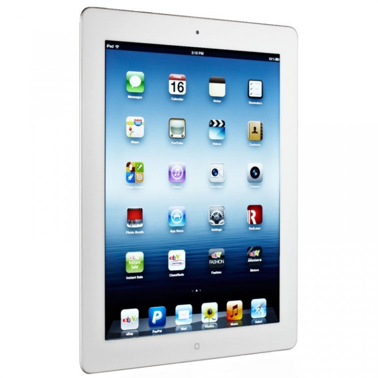 Apple iPad 4 16GB WiFi White - Kategorie A