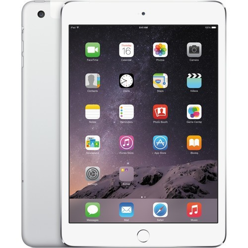 Apple iPad Mini 3 64GB Cellular Silver - Kategorie C