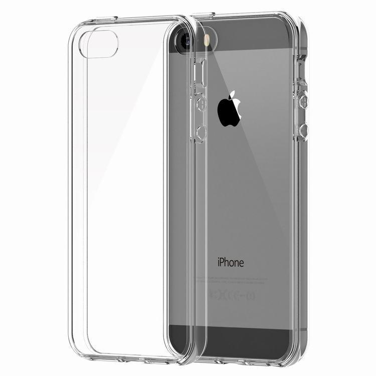 Průhledný kryt Apple iPhone 5S/5/SE