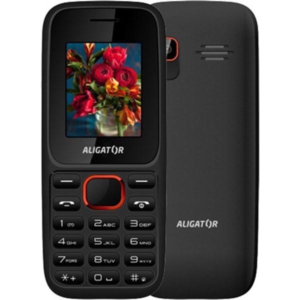 Aligator D200, Black - Red, dual SIM
